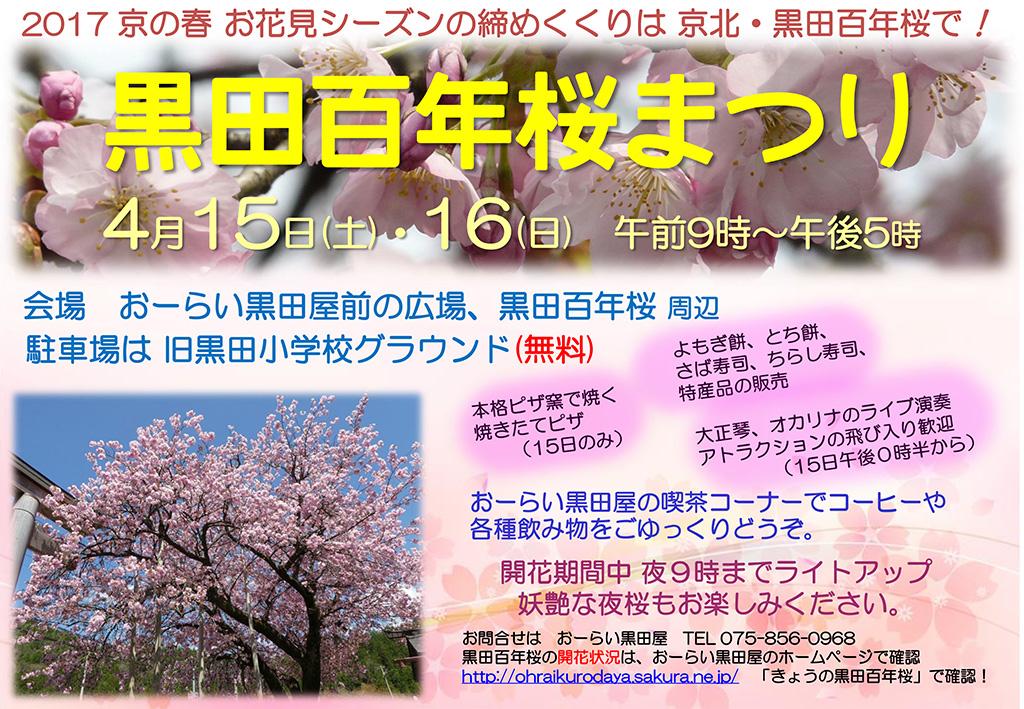 2016桜まつりチラシ